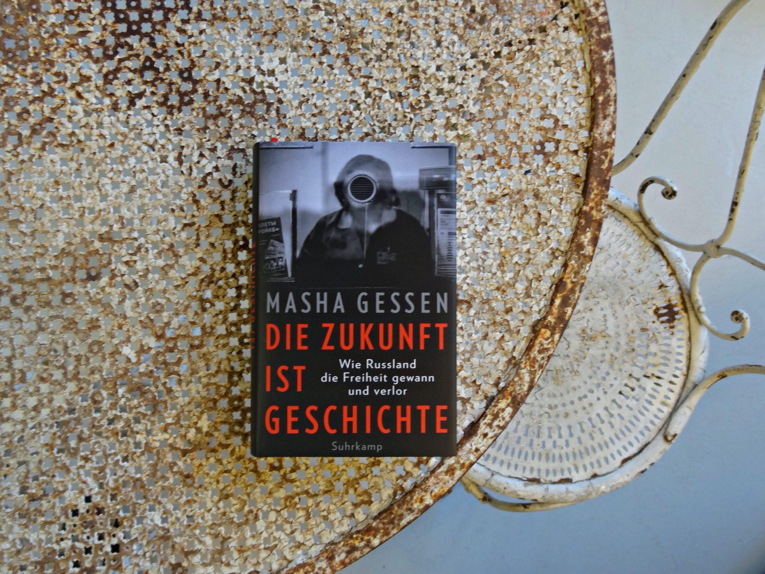 Tino Schlench - Literaturpalast - Masha Gessen - Die Zukunft ist Geschichte