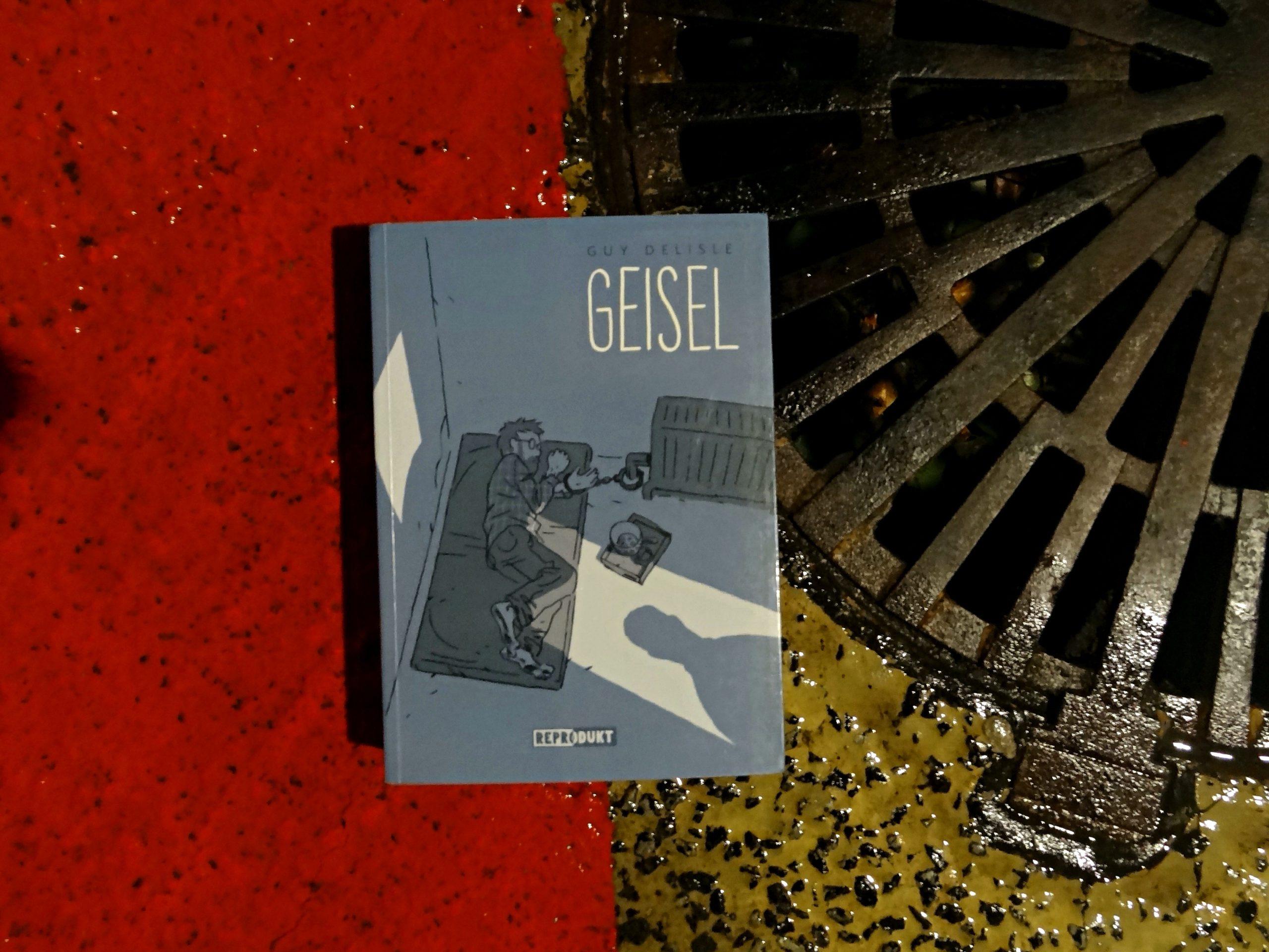 Tino Schlench - Literaturpalast - Guy Delisle - Geisel
