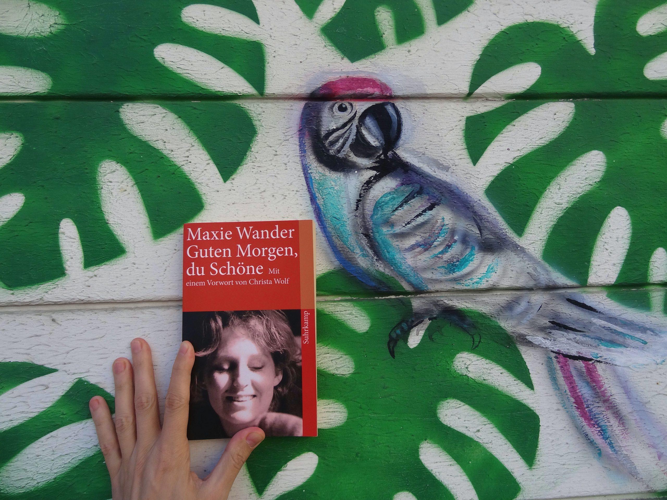 Tino Schlench - Literaturpalast - Maxie Wander - Guten Morgen, du Schöne
