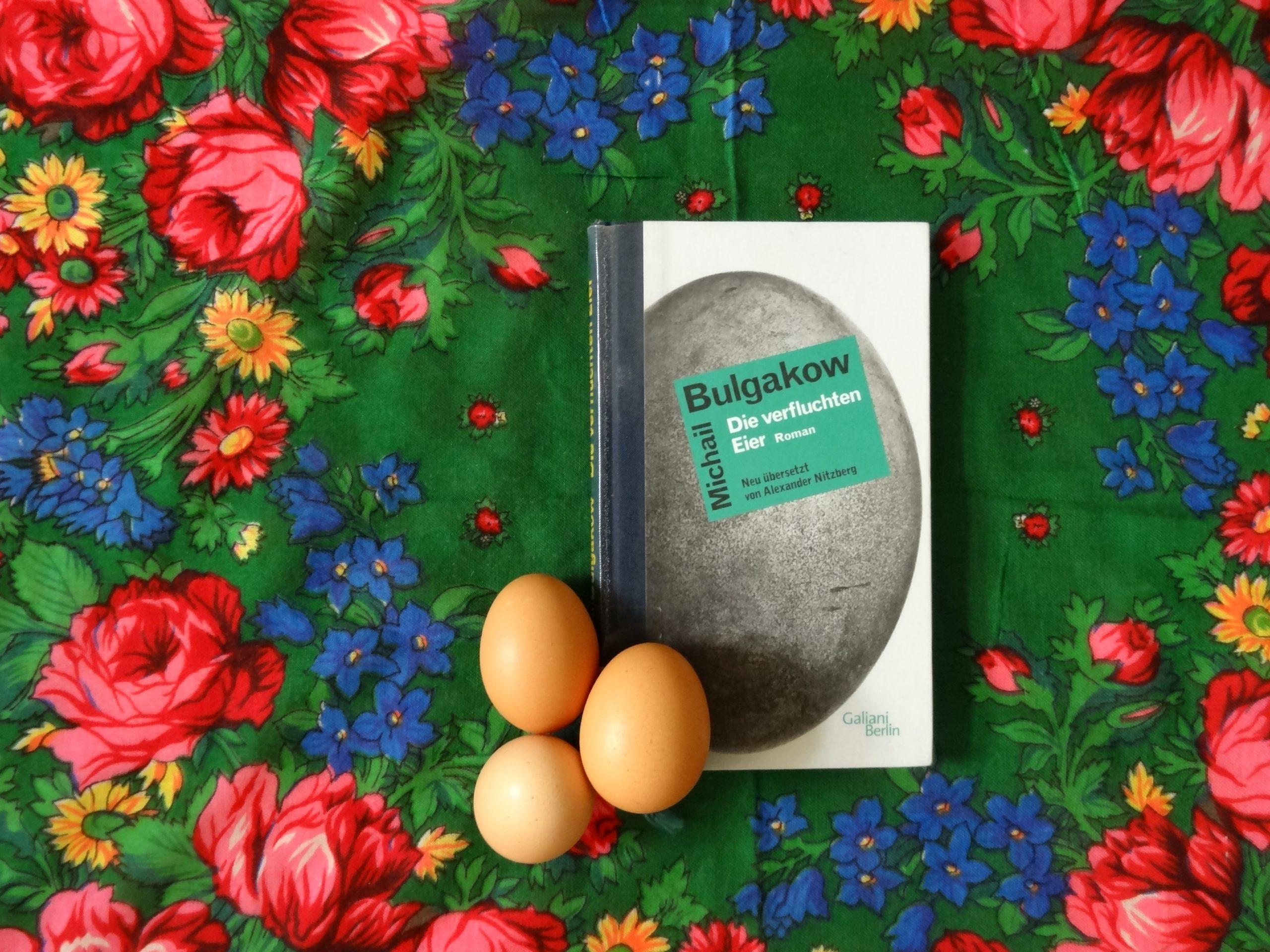 Tino Schlench - Literaturpalast - Michail Bulgakow - Die verfluchten Eier