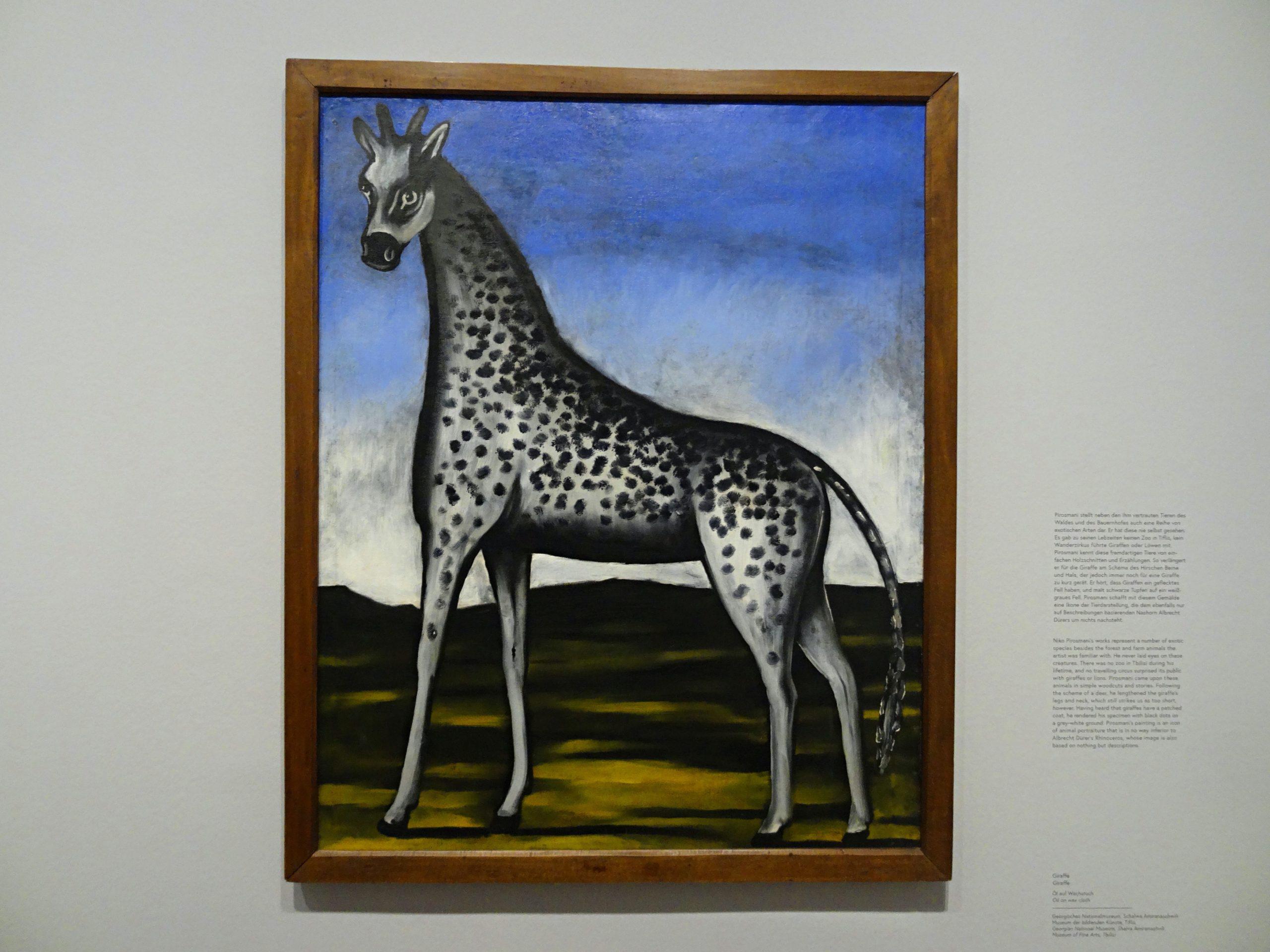 Tino Schlench - Literaturpalast - Niko Pirosmani - Giraffe