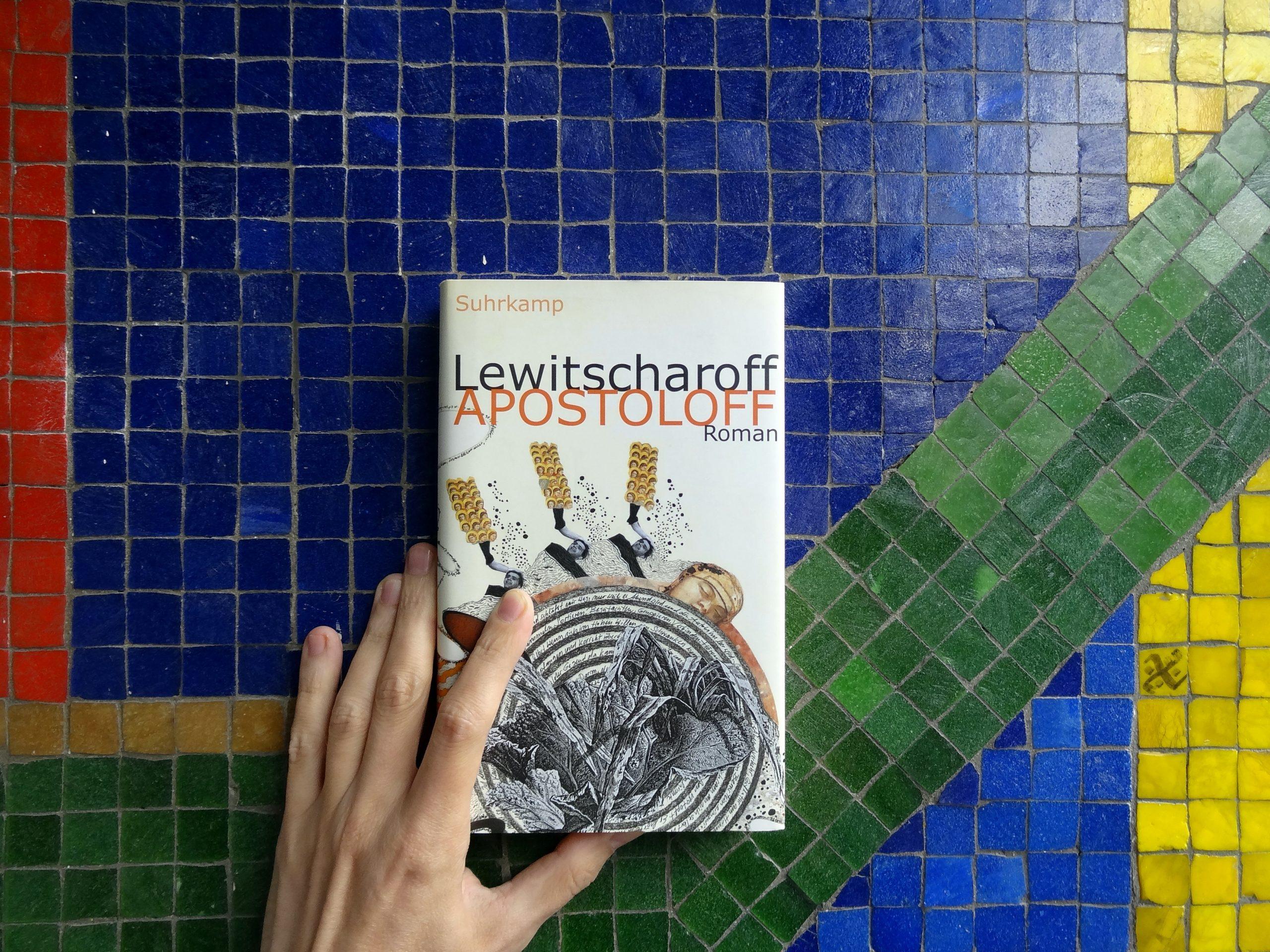 Tino Schlench - Literaturpalast - Sibylle Lewitscharoff - Apostoloff 4zu3