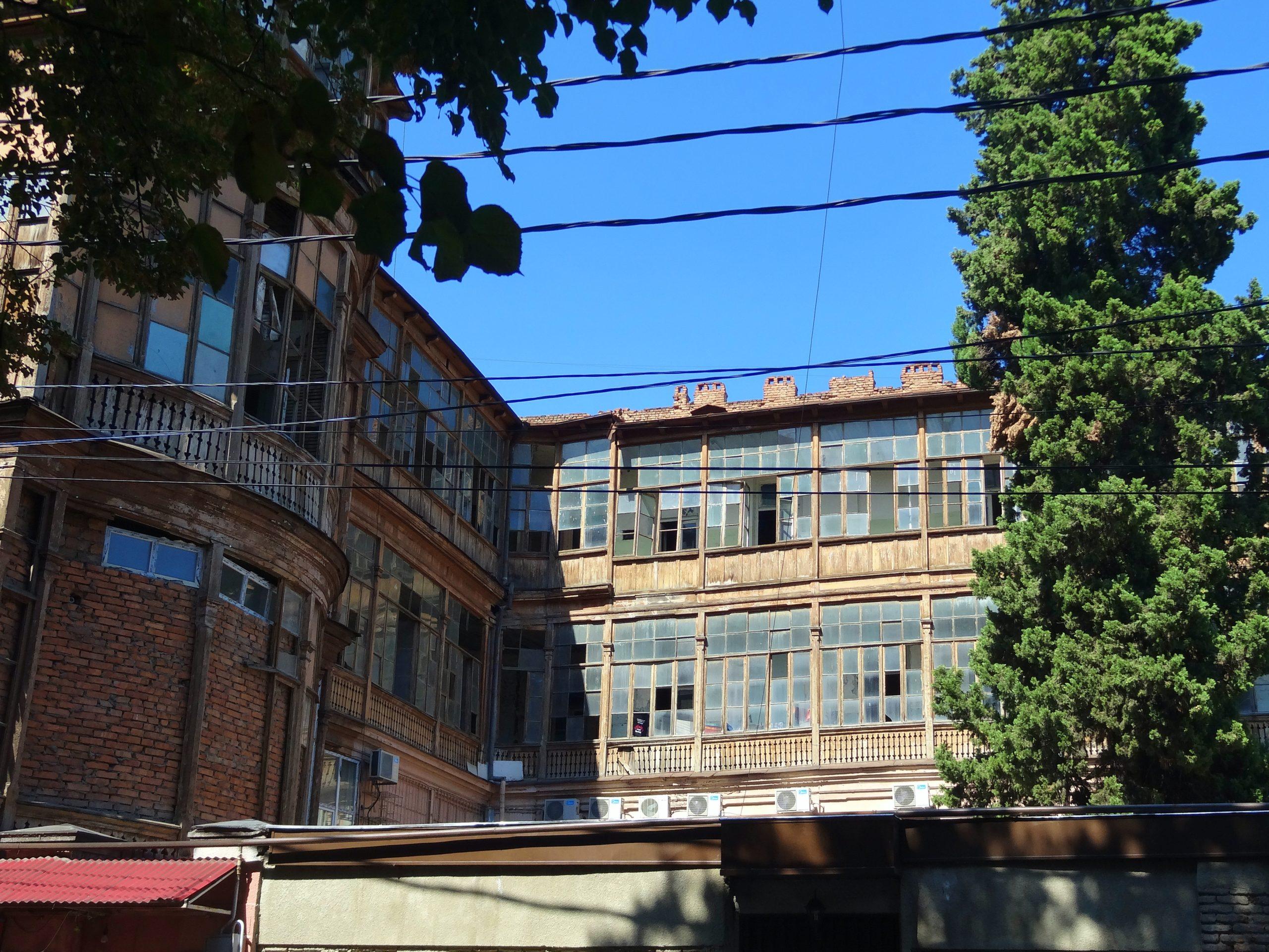 Tino Schlench - Literaturpalast - Vorschaubild Tiflis - Wohnhaus