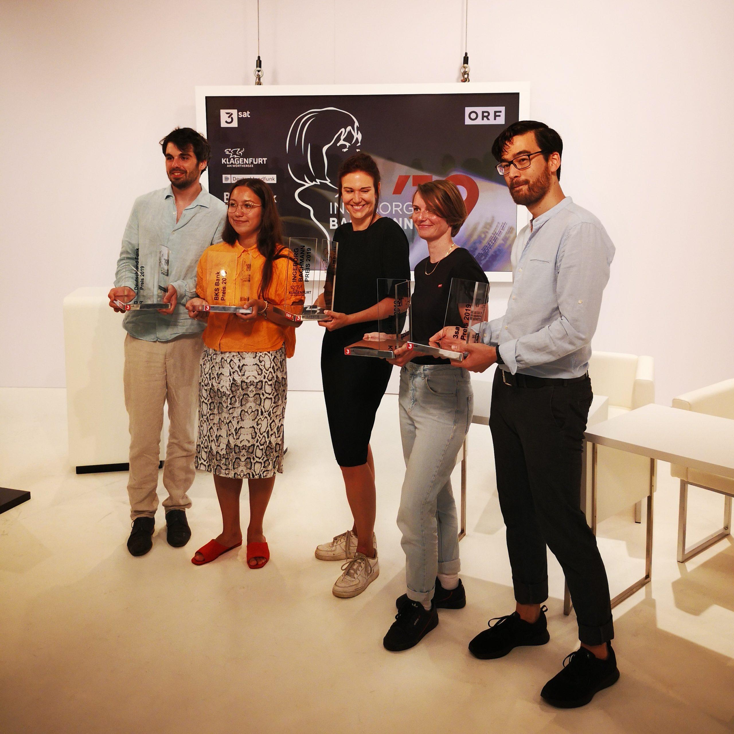Tino Schlench - Literaturpalast - Bachmann-Wettbewerb