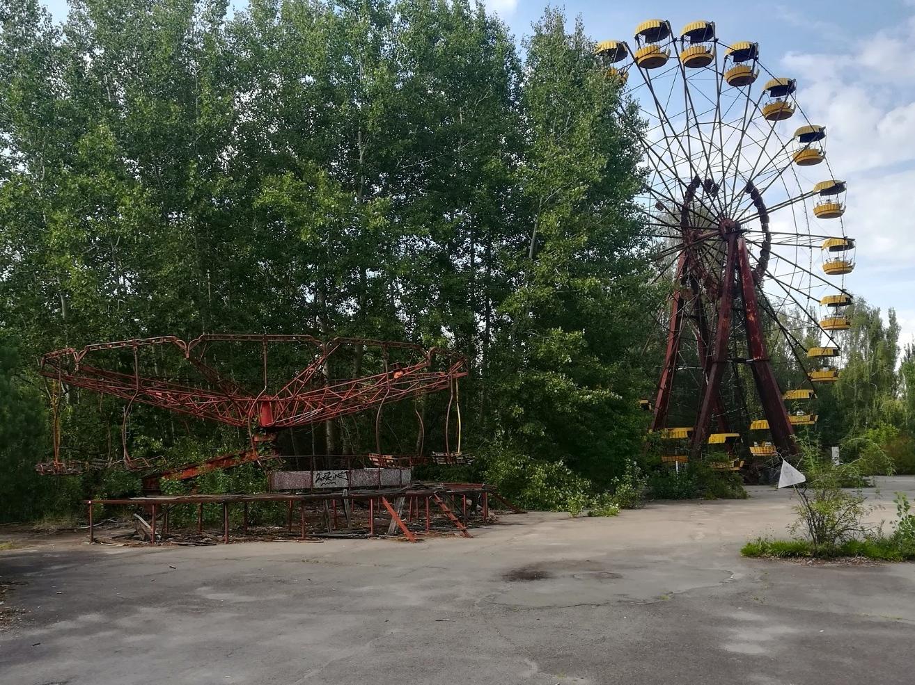 Tino Schlench - Literaturpalast - Tschernobyl Prypjat 1