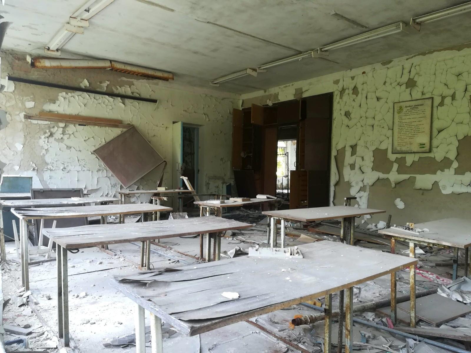 Tino Schlench - Literaturpalast - Tschernobyl Prypjat 2