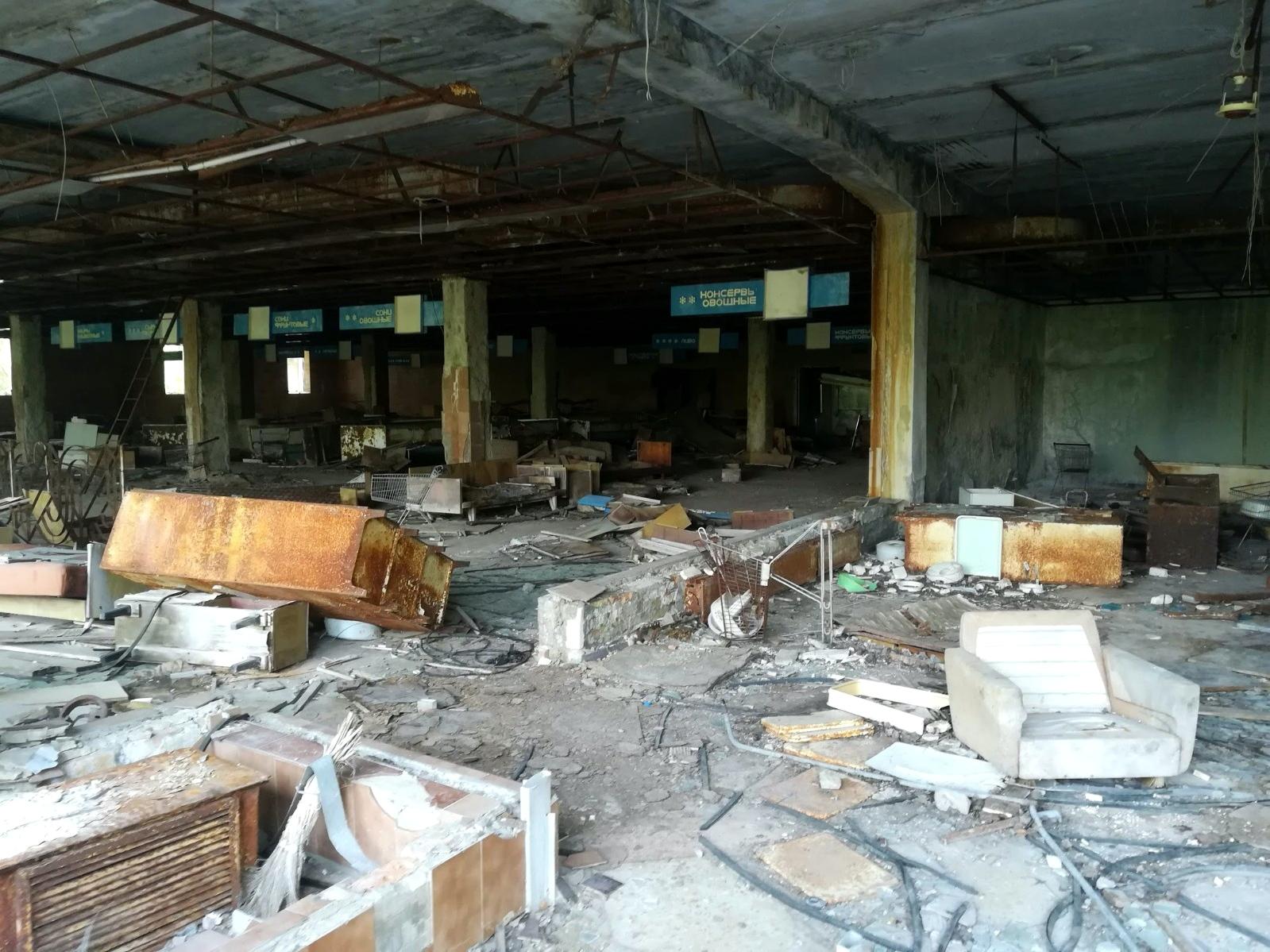 Tino Schlench - Literaturpalast - Tschernobyl Prypjat 3