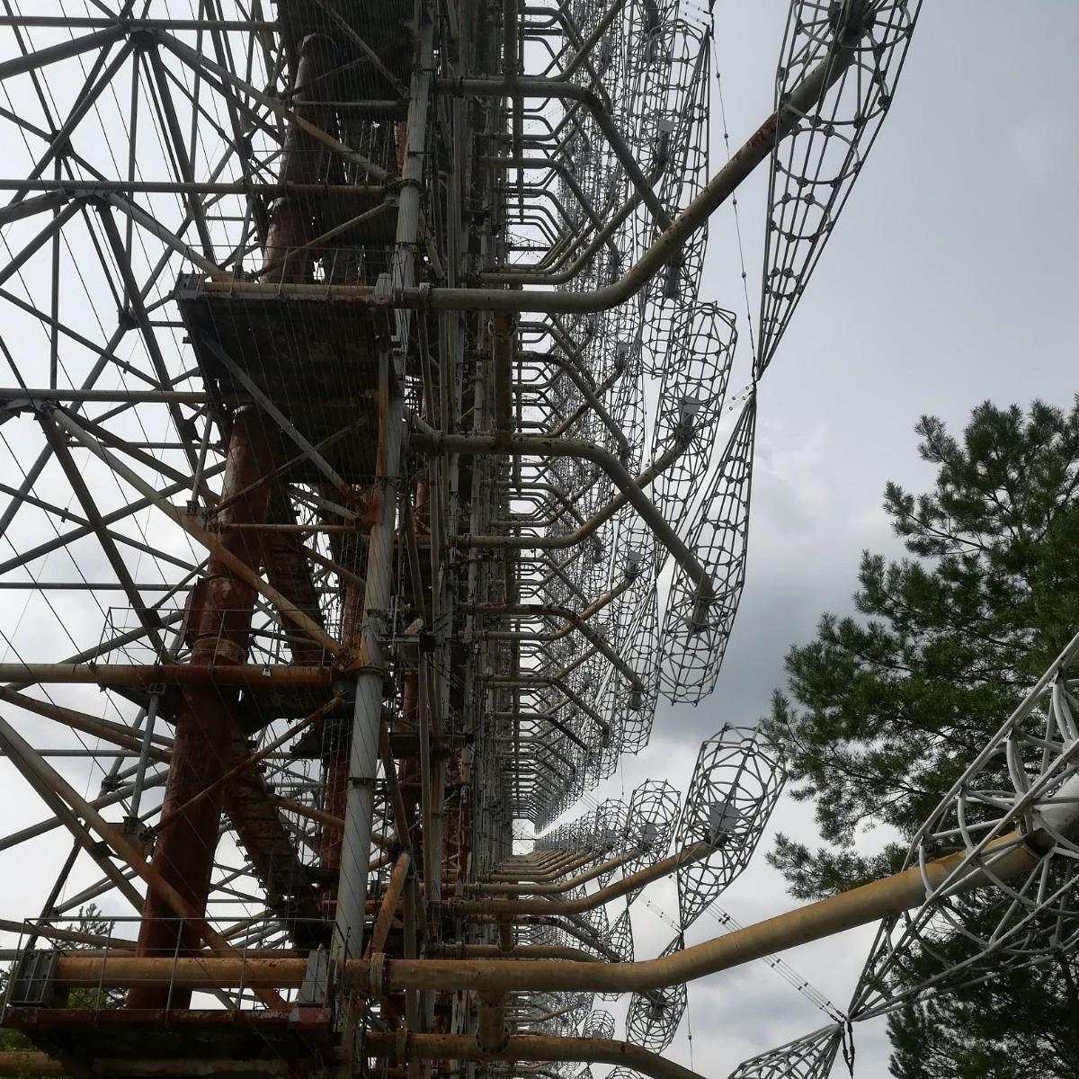 Tino Schlench - Literaturpalast - Tschernobyl-Radaranlage